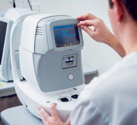 Zastosowanie biometrów optycznych